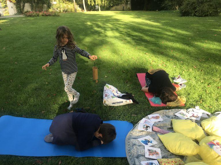 Yoga Garten