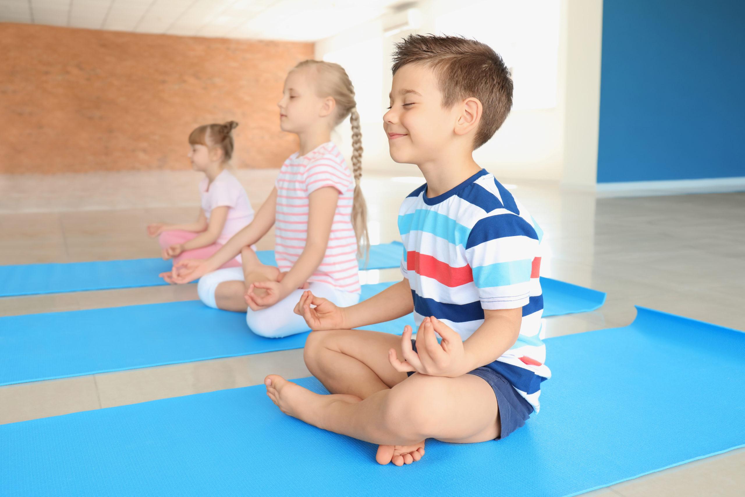 Yoga für Kinder online Training