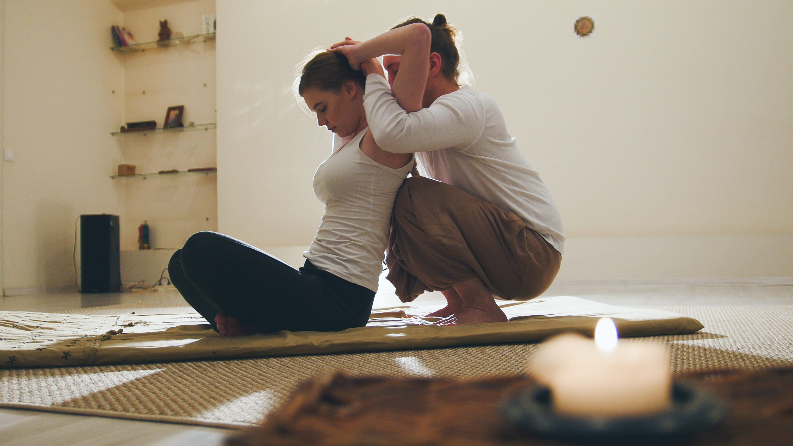 60 min Personal Yoga 55€ - auch online
